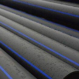 Водопроводные трубы и фитинги - Напорная труба для питьевой воды ПНД d160мм ПЭ100, 0
