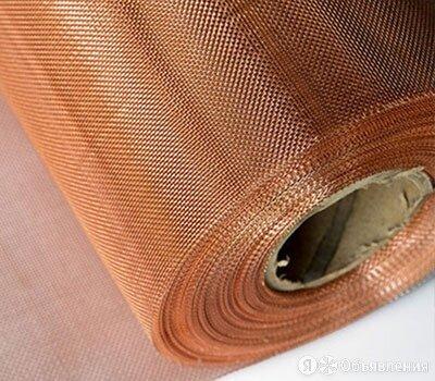 Сетка бронзовая 0,036х0,045х0,045 ГОСТ 6613-86 по цене 1920₽ - Металлопрокат, фото 0