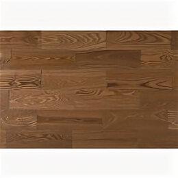 Массивная доска - Массивная  доска Amber Wood Ясень светлый орех лак 120, 0