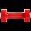 Гантель виниловая Core DB-101, 3 кг,  красный, Starfit по цене 1139₽ - Защита и экипировка, фото 2