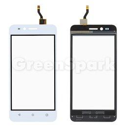 Дисплеи и тачскрины - Тачскрин для Huawei Y3 II 3G (LUA-U22) (белый), 0
