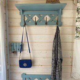 Вешалки настенные - деревянные вешалки в скандинавском стиле, 0