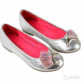 Балетки, туфли - Балетки Billieblush для девочки, размер 27, 0
