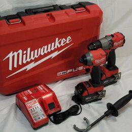 Шуруповерты - Набор шуруповертов Milwaukee 2997-22 M18 fuel, 0