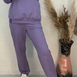 Спортивные костюмы - Женский тёплый спортивный костюм р-ры 50-62, 0