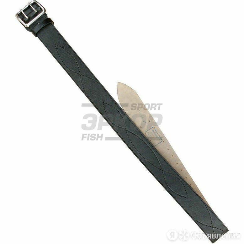 Ремень офицерский ХСН коричневый 50 мм №2 по цене 827₽ - Ремни, пояса и подтяжки, фото 0