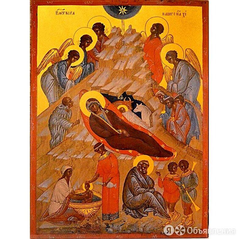Рождество Христово. Копия иконы XVI века на доске. по цене 5890₽ - Иконы, фото 0