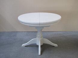 Столы и столики - Стол №3 круглый раскладной в эмали, 0