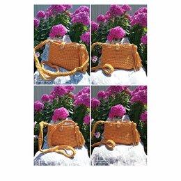 Рукоделие, поделки и сопутствующие товары - Вязаная сумочка. Ширина15см. Высота 18см., 0