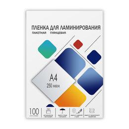 Расходные материалы для ламинаторов - Пленка-заготовка ГЕЛЕОС, LPA4-250, 0
