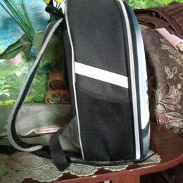 Рюкзаки, ранцы, сумки - Рюкзак каркасный чёрный школьный, для мальчика , 0