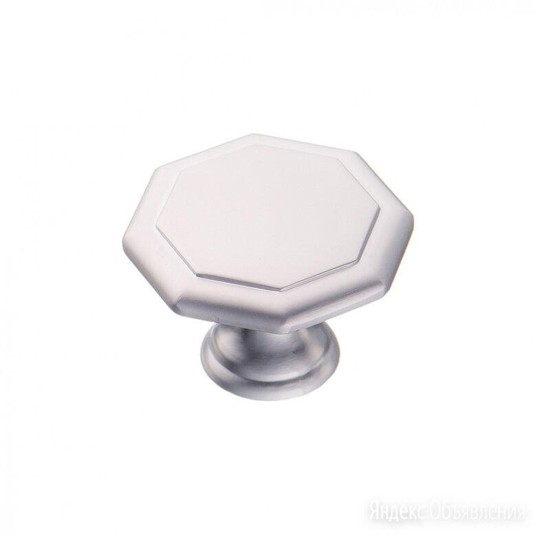 Ручка-кнопка Kerron K-1090 SC по цене 110₽ - Ручки дверные, фото 0