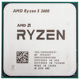 Процессоры (CPU) - Процессоры Ryzen 5 3600, сокет ам4, 0