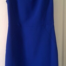 Платья - Платье синее Mango Basic р-р S, 0