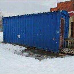 Оборудование для транспортировки - Бытовка из 20 футового морского контейнера, 0