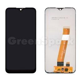 Дисплеи и тачскрины - Дисплей для Samsung M015F Galaxy M01 + тачскрин (черный) (широкий коннектор), 0