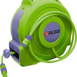 Шланги и комплекты для полива - Катушка для шланга настенная автоматическая PALISAD 20 м 67407 [67407], 0