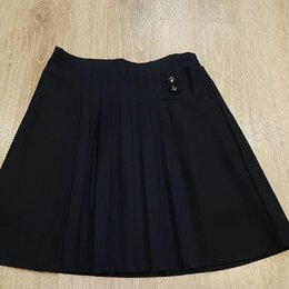 Юбки - Новая темно-синяя юбка для школы Futurino , 0