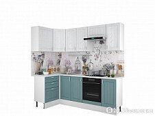 Готовая кухня ЛегкоМаркет Принцесса  1200х2400 Арктик-Мурено по цене 25720₽ - Кухонные гарнитуры, фото 0