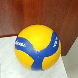 Спортивная защита - Волейбол Мяч Волейбольный Mikasa V390W Новый, 0
