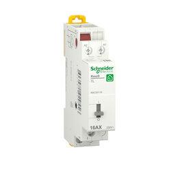 Электроустановочные изделия - SE RESI9 Импульсное реле 16А 1NO 230/250В АС 50Гц, 0