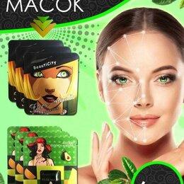Увлажнение и питание - Набор тканевых масок для лица, 0