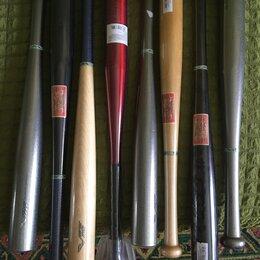 Бейсбол - Алюминиевые ,деревянные,цветные,разные., 0