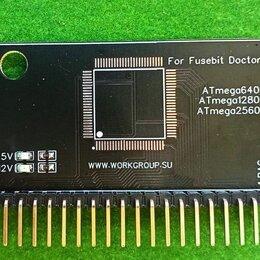 Прочие комплектующие - Адаптер QFP-100 для Atmega fusebit doctor, 0