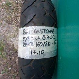 Шины, диски и комплектующие - Мотошина 160/80-15 Bridgestone Exedra G702, 0