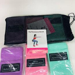 Аксессуары - Тканевые фитнес-резинки Luting Pump, эспандеры с мешочком для хранения, 0