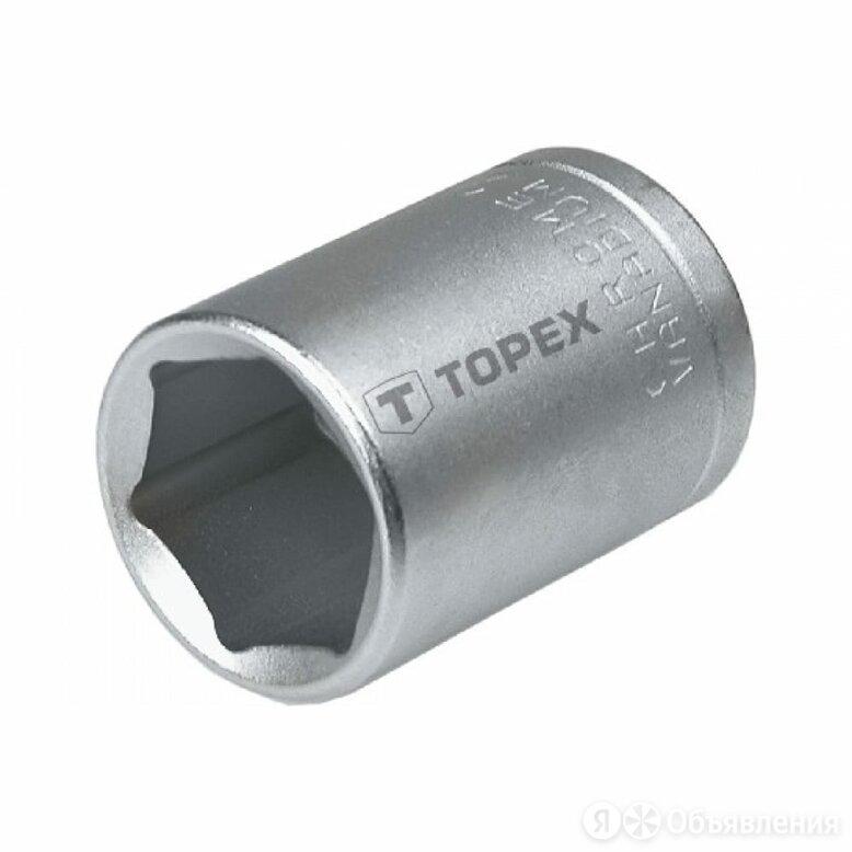 Шестигранная головка TOPEX 38D727 по цене 291₽ - Торцевые головки и ключи, фото 0