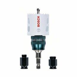 Для перфораторов - Коронка Bosch HSS-BIM 51мм + адаптеры KIT, 0