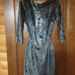 Платья - Платье под змеиный принт, 0