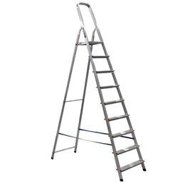 Лестницы и стремянки - Стремянка алюминиевая 9 ступеней, 0