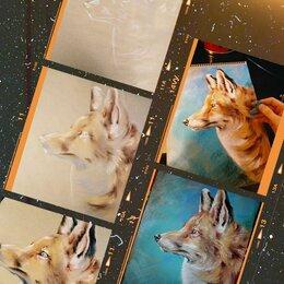 Картины, постеры, гобелены, панно - Картина с лисицей, 0