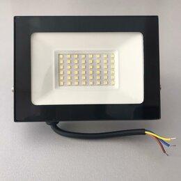 Уличное освещение - Прожектор  led 30вт 6500k 2700лм черный ip65 , 0