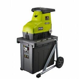 Садовые измельчители - Электрический садовый измельчитель ryobi rsh2545b 5133002512, 0