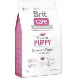 Корма  - Корм Brit Care Puppy Salmon & Potato беззерновой д, 0