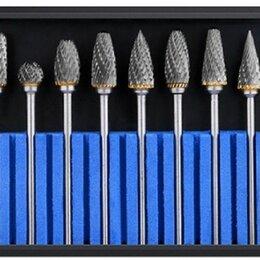 Аксессуары, запчасти и оснастка для пневмоинструмента - Набор Борфрез шарошек по металлу ф 6 мм ВК8, 0