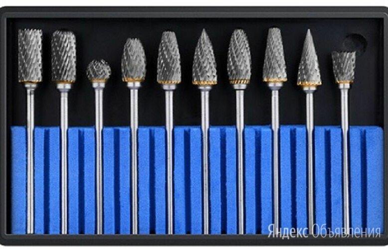 Набор Борфрез шарошек по металлу ф 6 мм ВК8 по цене 1000₽ - Аксессуары, запчасти и оснастка для пневмоинструмента, фото 0