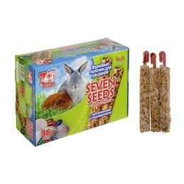 Лакомства  - Набор 'Seven Seeds' палочки для грызунов, витамины и минералы, короб, 36 шт, ..., 0