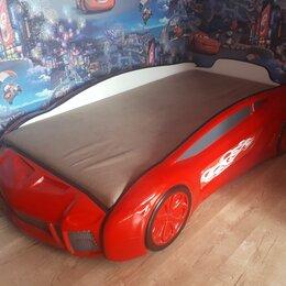 Кроватки - Детская кровать- машинка, 0