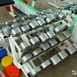 Аксессуары для силовых тренировок - Гантельный ряд,гантели 230кг. Произв-во и др.вес, 0