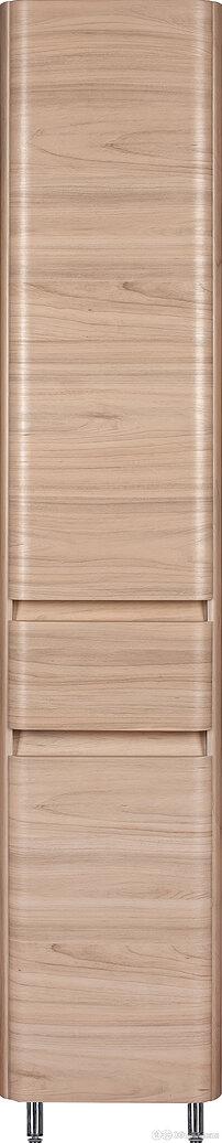 Шкаф-пенал Style Line Атлантика 35 Люкс Plus, с бельевой корзиной, ясень перл... по цене 18700₽ - Стеллажи и этажерки, фото 0