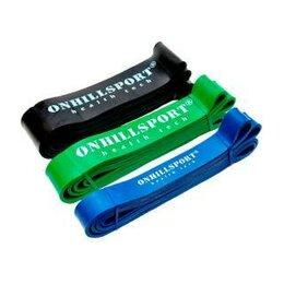 Эспандеры и кистевые тренажеры - Резиновые петли ONHILLSPORT Набор из 3-х резиновых петель ONHILLSPORT (14 - 7..., 0