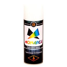 Аэрозольная краска - Термостойкая аэрозольная краска MONARCA 21100, 0