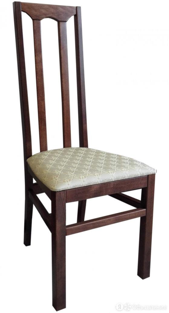 Стул деревянный №82 Выбеленный по цене 3366₽ - Мебель для кухни, фото 0