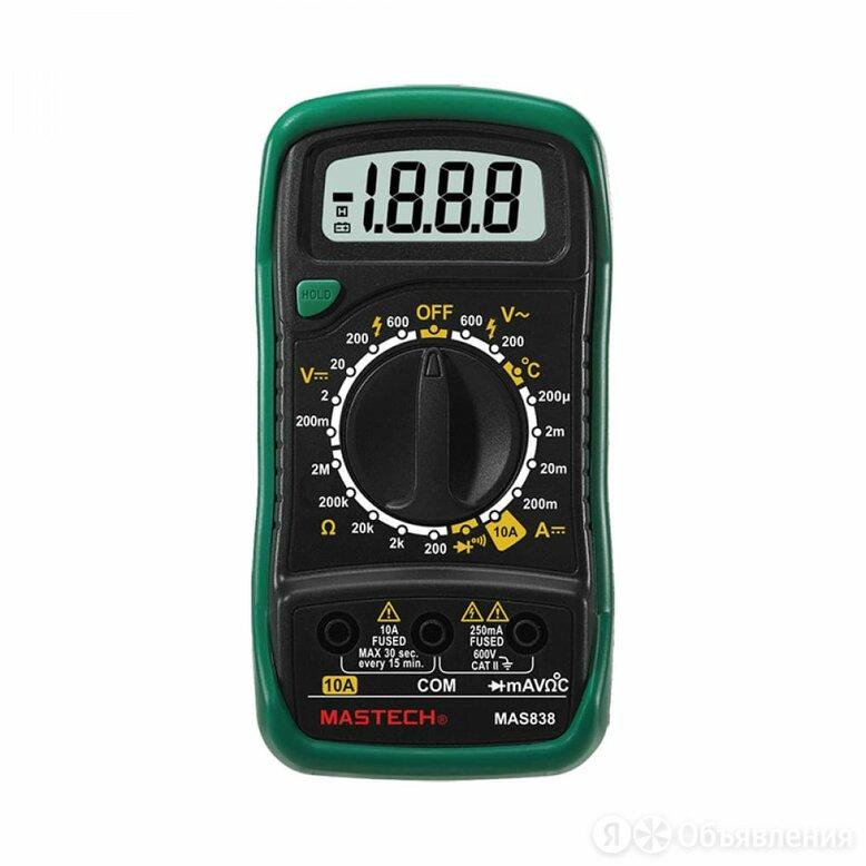 Цифровой мультиметр Mastech MAS838 по цене 1299₽ - Измерительные инструменты и приборы, фото 0