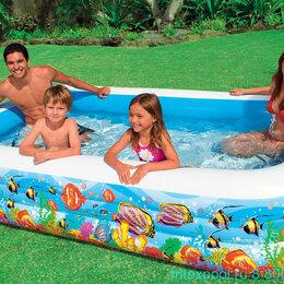 Средства для купания - Бассейн надувной для детей 210х135х60см , 0