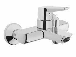 Смесители - Vitra Смеситель для ванны и душа Vitra Solid S А42444ЕXP картридж 35,короткий..., 0